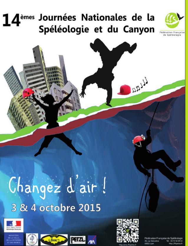 14èmes Journées Nationales de la Spéléologie et du Canyonisme